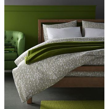 Olive Fern Bedding by Peacock Alley