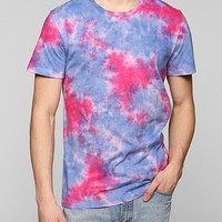 BDG Placed Tie-Dye Tee - Urban Outfitters