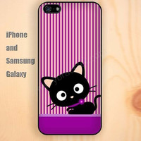 Cartoon cat hot pink colorful iphone 6 6 plus iPhone 5 5S 5C case Samsung S3,S4,S5 case Ipod Silicone plastic Phone cover Waterproof