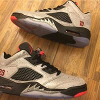 "Air Jordan 5 Low ""Neymar"" Basketball Shoes 36-47"