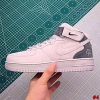 NIKE AIR FORCE street fashion men and women high-top flat shoes #4