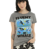 Disney Finding Dory Fluent In Whale Girls T-Shirt