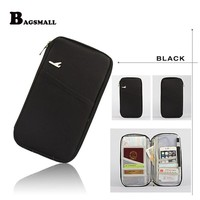 BAGSMALL Multifunction Travel Wallet for Credit Cards Passport Cover Travelus Package Holder Money Bill Storage Organizer