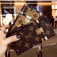 Louis Vuitton LV Fashion iPhone Phone Transparent Cover Case For iphone