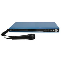 SC-31 5.1 Channel DVD Player with HDMI Up Conversion, USB, SD Card Slot and Karaoke- Blue