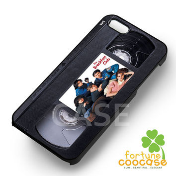 The breakfast club image on vhs cassette -stle for iPhone 6S case, iPhone 5s case, iPhone 6 case, iPhone 4S, Samsung S6 Edge