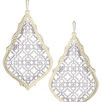 Adair Earrings in Silver - Kendra Scott Jewelry