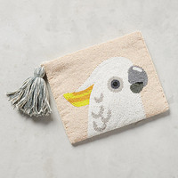 Cacatua Beaded Pouch