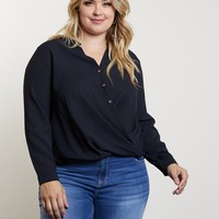 Plus Size After Hours Top