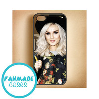 Perrie Edwards floral iPhone 4/4s 5/5s/5c & iPod 4/5 Rubber Case