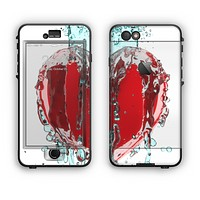 The Drenched 3D Icon Apple iPhone 6 LifeProof Nuud Case Skin Set
