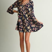 Fall Harvest Party Dress - Black