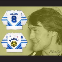 Finland Teemu Selanne Hockey Jersey Any Player or Number New