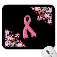 Pink Ribbon Mousepad from Zazzle.com