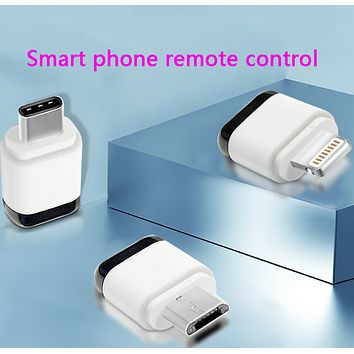 Infrared smart remote control for learning mobile phone