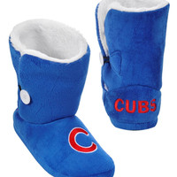 Chicago Cubs Slippers - Womens Boot