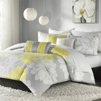 Lola 6 Piece Duvet Set Size: Queen