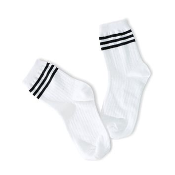 Your Way Socks - Black Stripes