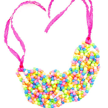 Big Bling Color Pop Necklace