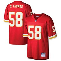 Derrick Thomas Kansas City Chiefs Mitchell & Ness Red Replica Jersey