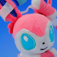 "Sylveon / Nymphia Plush Doll Pokemon XY / Pocket Monster 5"" Cute Pink"