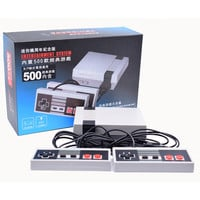 Retro Classic Game Player Family TV Video Game Consoles Childhood Built-in 500 Double handle control Pal Ntsc