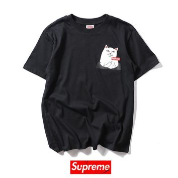 Cheap Women's and men's supreme t shirt for sale 85902898_0010