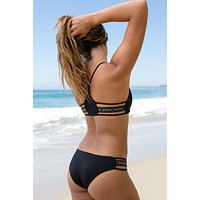 L*Space Swim - Native Reversible Bottom | Black