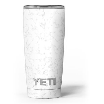 Slate Marble Surface V50 - Skin Decal Vinyl Wrap Kit compatible with the Yeti Rambler Cooler Tumbler Cups