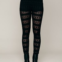 Free People Autumn Leaves Lace Pant