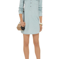 AG Jeans Cotton-blend twill shirt dress – 55% at THE OUTNET.COM