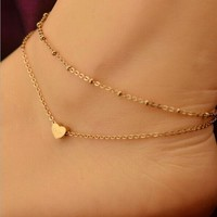 Gofuly Best Selling Lovely Gold Elegant  Anklet Ankle Bracelet