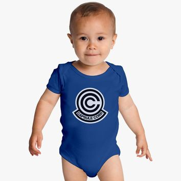 Capsule Corp Dragon Ball Z Baby Onesuits