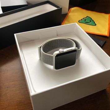Apple Watch Series 3(Cellular+GPS)42mm Silver Aluminum