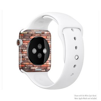 The Multicolor Highlighted Brick Wall Full-Body Skin Kit for the Apple Watch