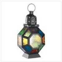 Moroccan Market Lantern - Style 12777 by Furniture Creations