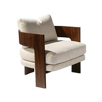Thayer Coggin Milo Baughman On 3 Lounge Chair
