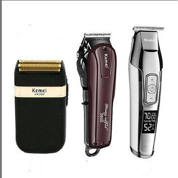 Professional Electric Hair Clippers Rechargeable Trimmer Bearded Razor Shaving Machine Hair Trimmer