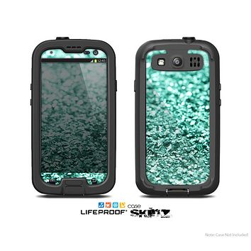 The Glimmer Green Skin For The Samsung Galaxy S3 LifeProof Case