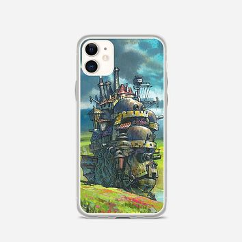 Howls Moving Castle Artwork iPhone 11 Case