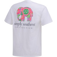 Simply Southern Women's Elephant T-shirt   Academy