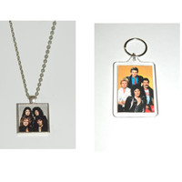 Freddie Mercury Queen Glass Pendant Necklace and/ or Keychain