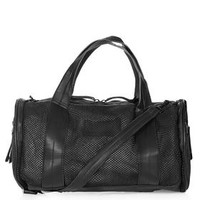 Barrel Mesh Luggage - Black