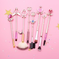 Sailor Moon Cosmetic Brush Set
