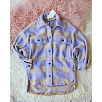 Lilac Mountain Shirt Jacket