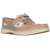 Sperry Top-Sider Bluefish Two Eye Boat Shoes - Linen/Oat