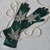 Mary Jane Smoking Gloves