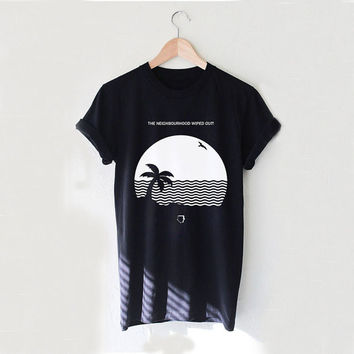 The Neighbourhood Beach Wiped Out House Design Style White and Black Reaclothstore