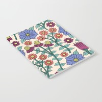 Autumn Wildflowers Notebook by Sarah Oelerich
