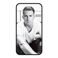 Custom Channing Tatum Best Hard Case Cover for Iphone 4 4S